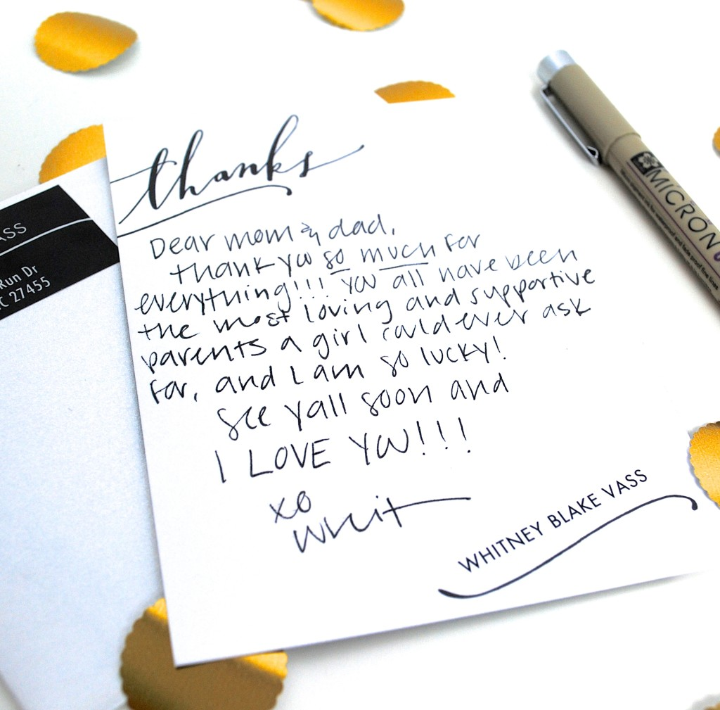 the lost art of thank you notes You did send them all thank-you notes, right what we do services social graces: the lost art of the thank-you note alyson jones april 24, 2013 uncategorized.