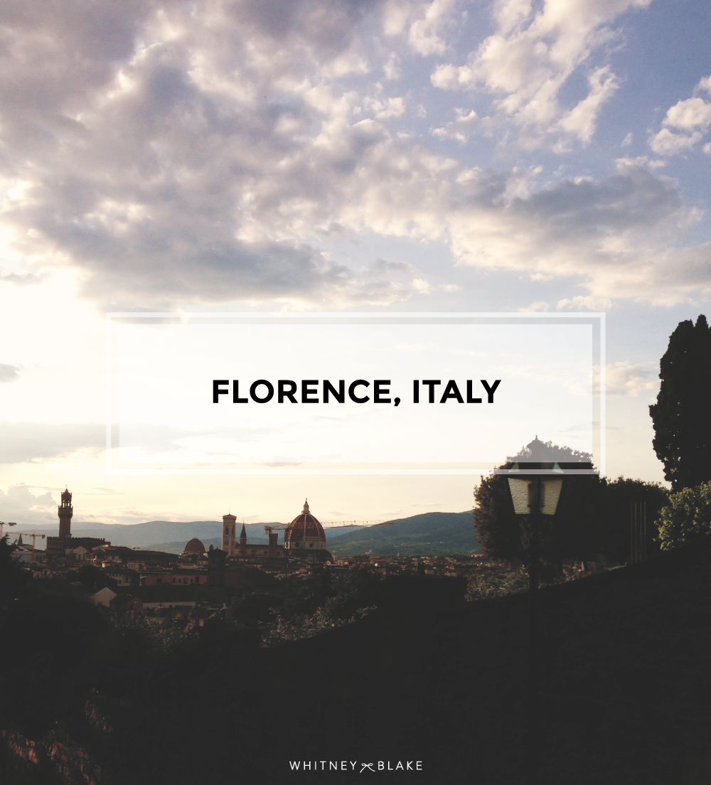 Things to see in Florence, Italy