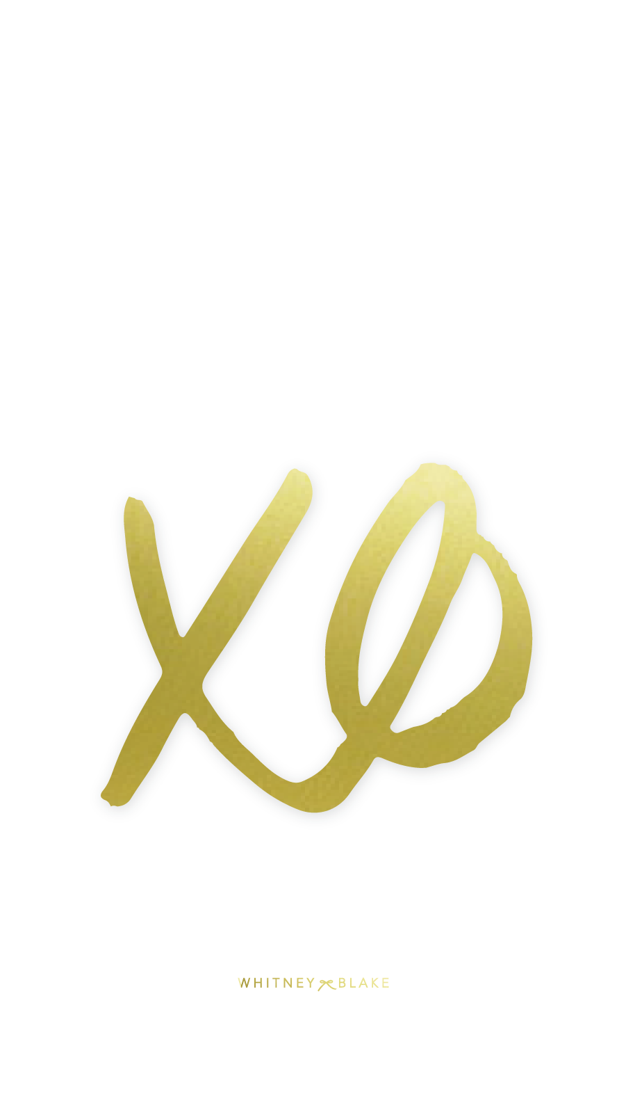 Xo Wallpaper Freebie Whitney Blake