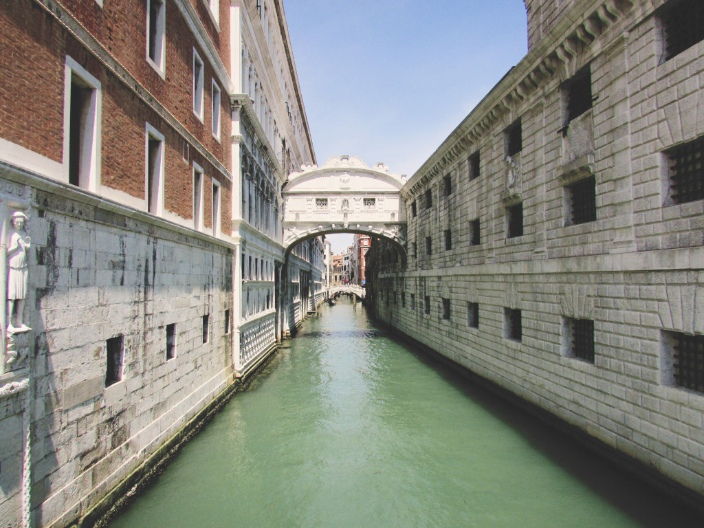 Exploring Venice, Italy - Bridge of Sighs