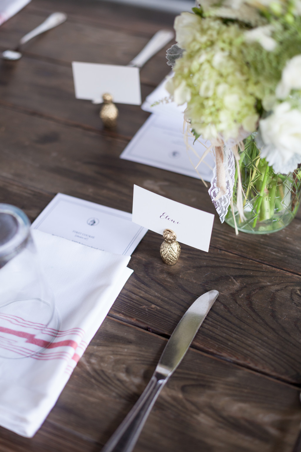 Rustic Place Setting