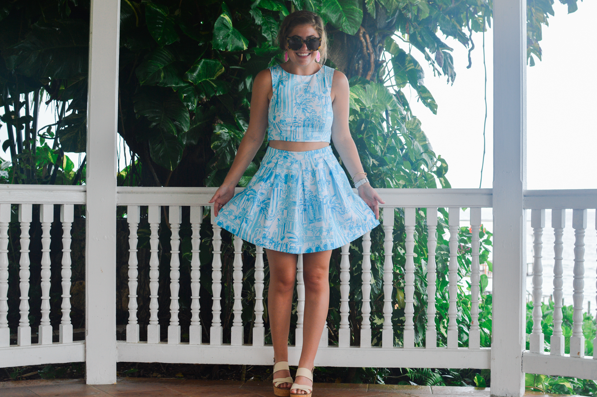 Lilly Pulitzer Melody Crop Set