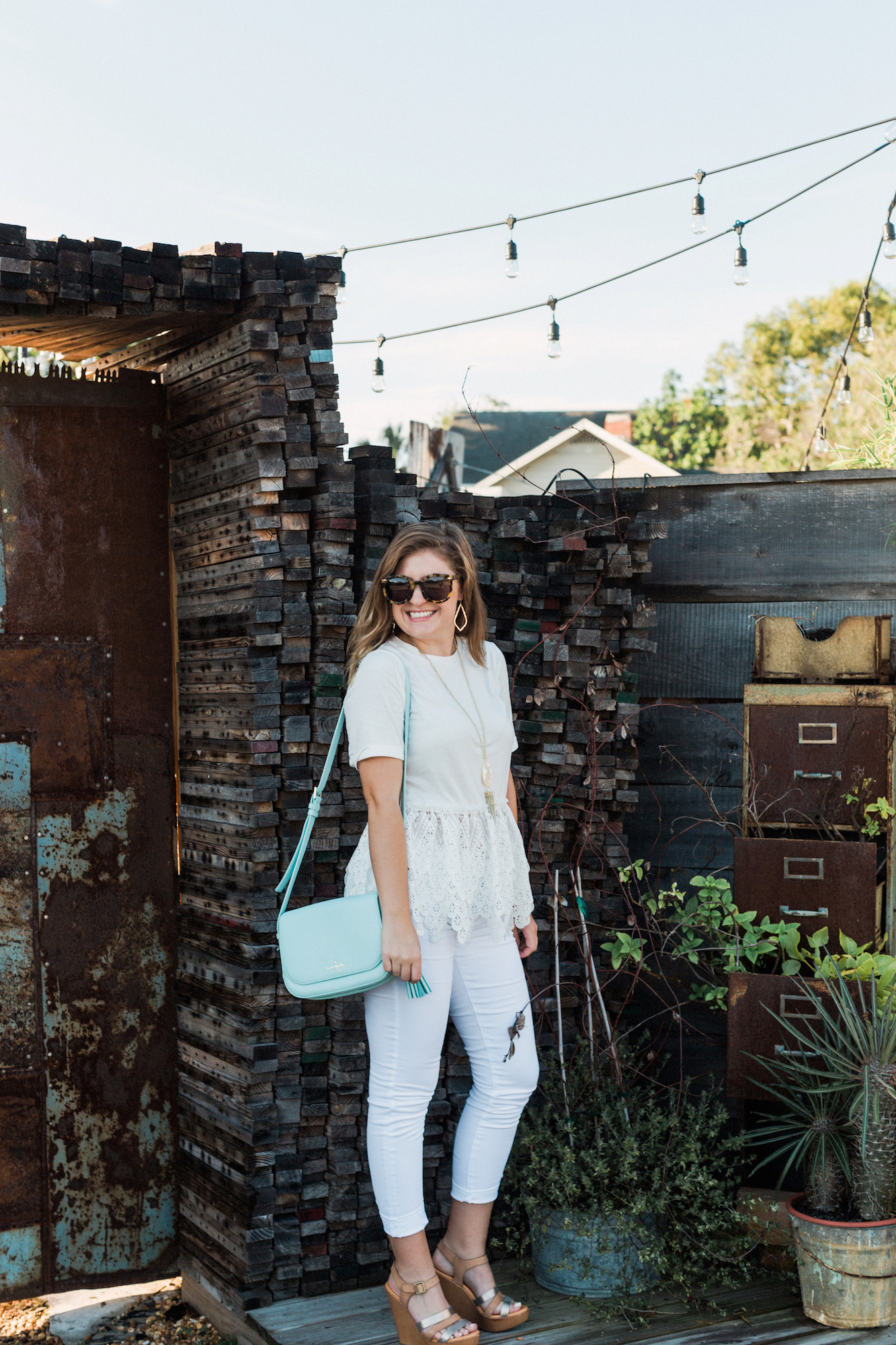 All white outfit inspiration