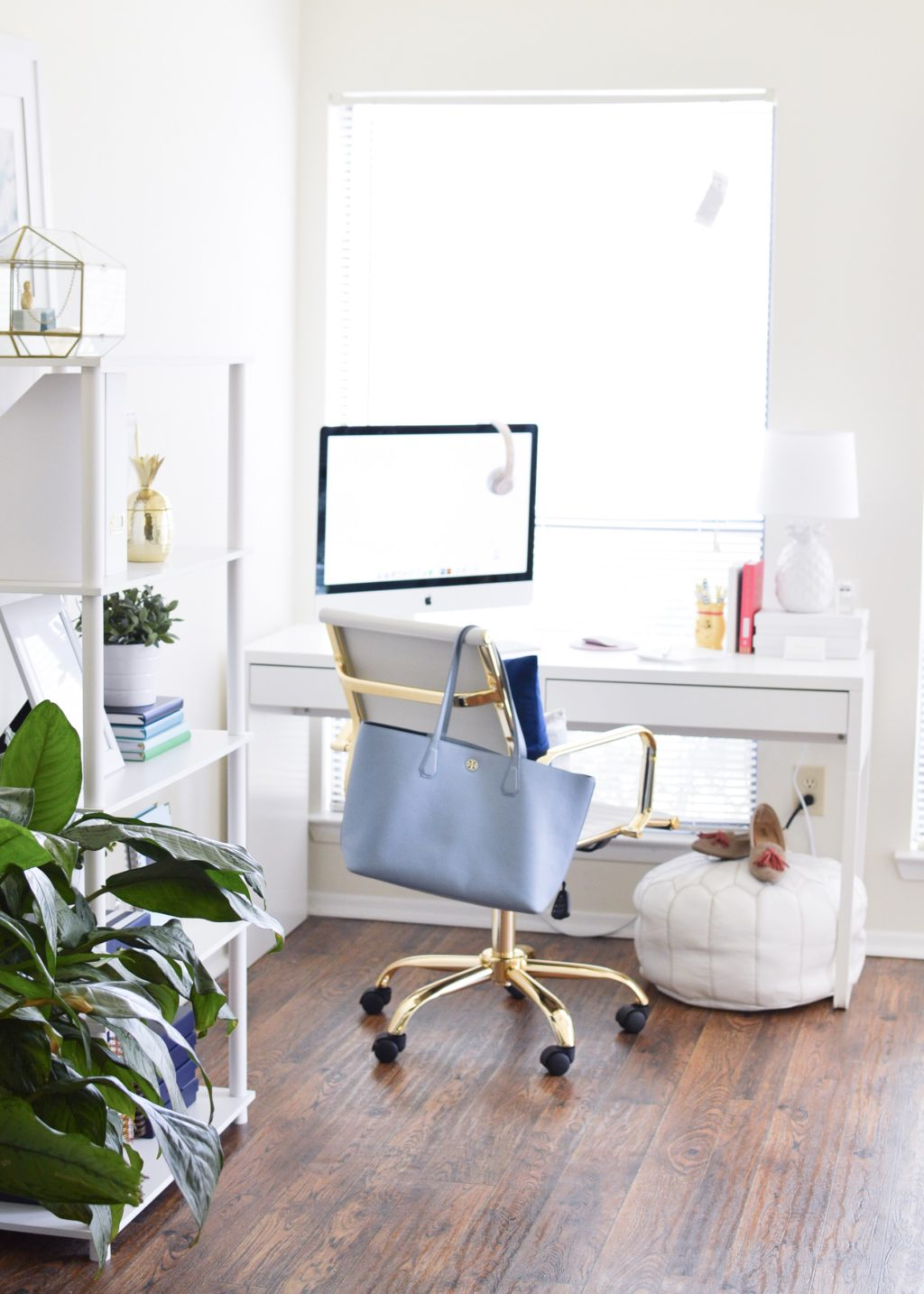 Light & Airy Office Tour | Whitney Blake