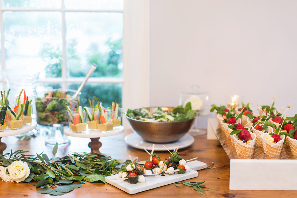 Wedding Salad Bar