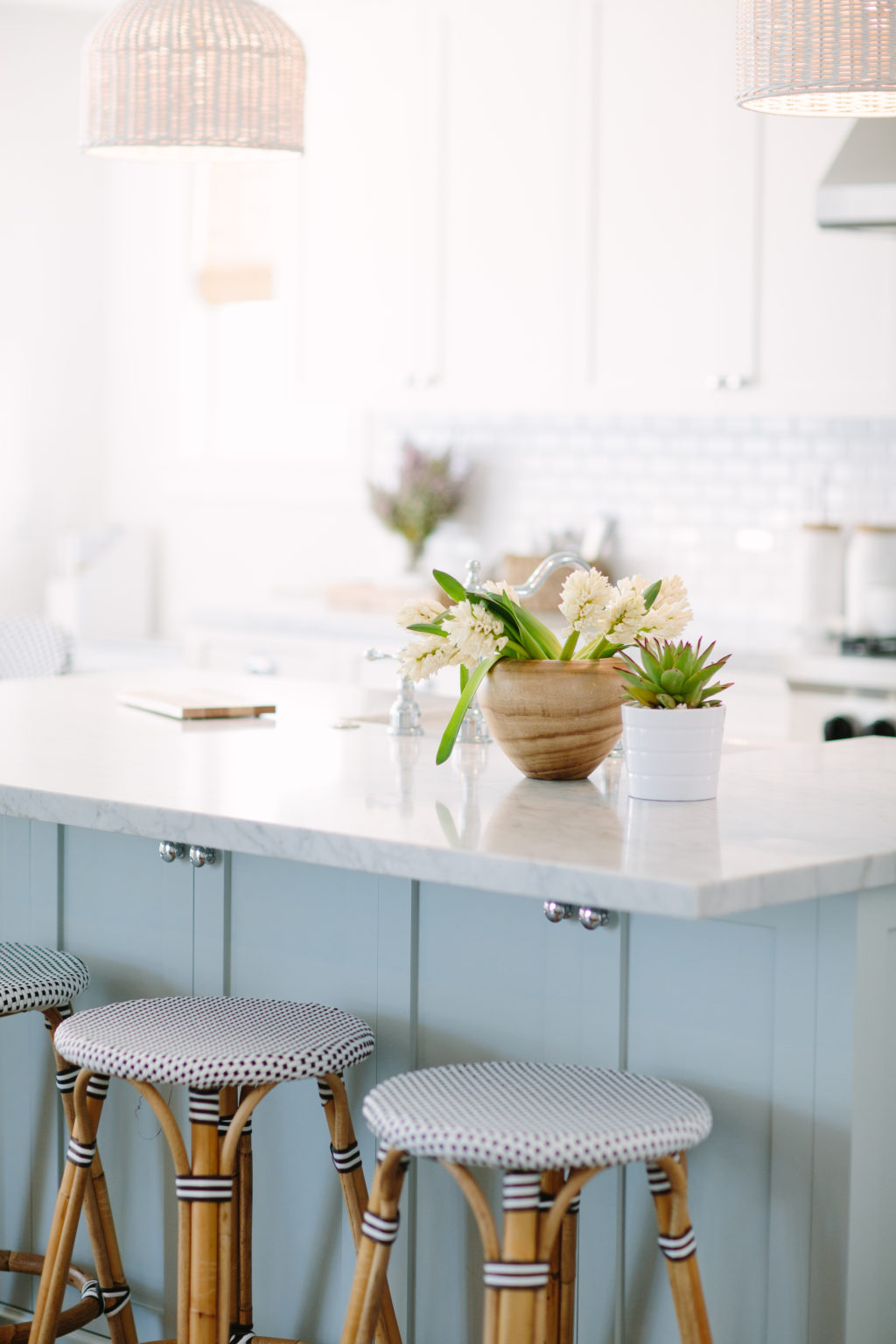 Light blue kitchen inspiration