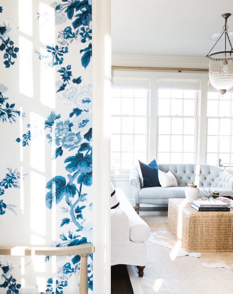 Blue and white interior inspiration