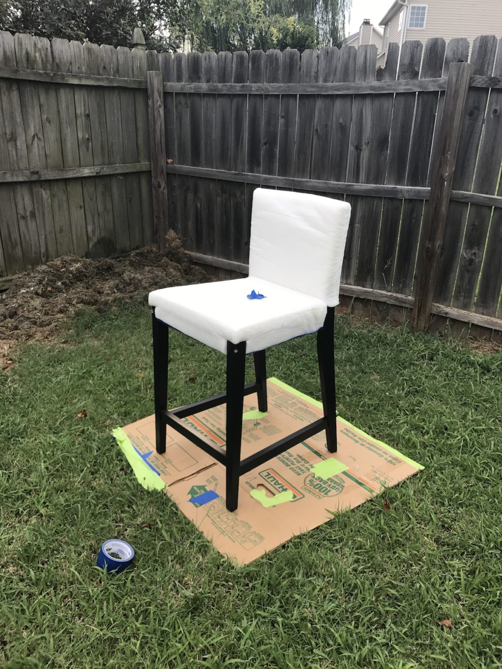 Ikea Kitchen Barstool Hack