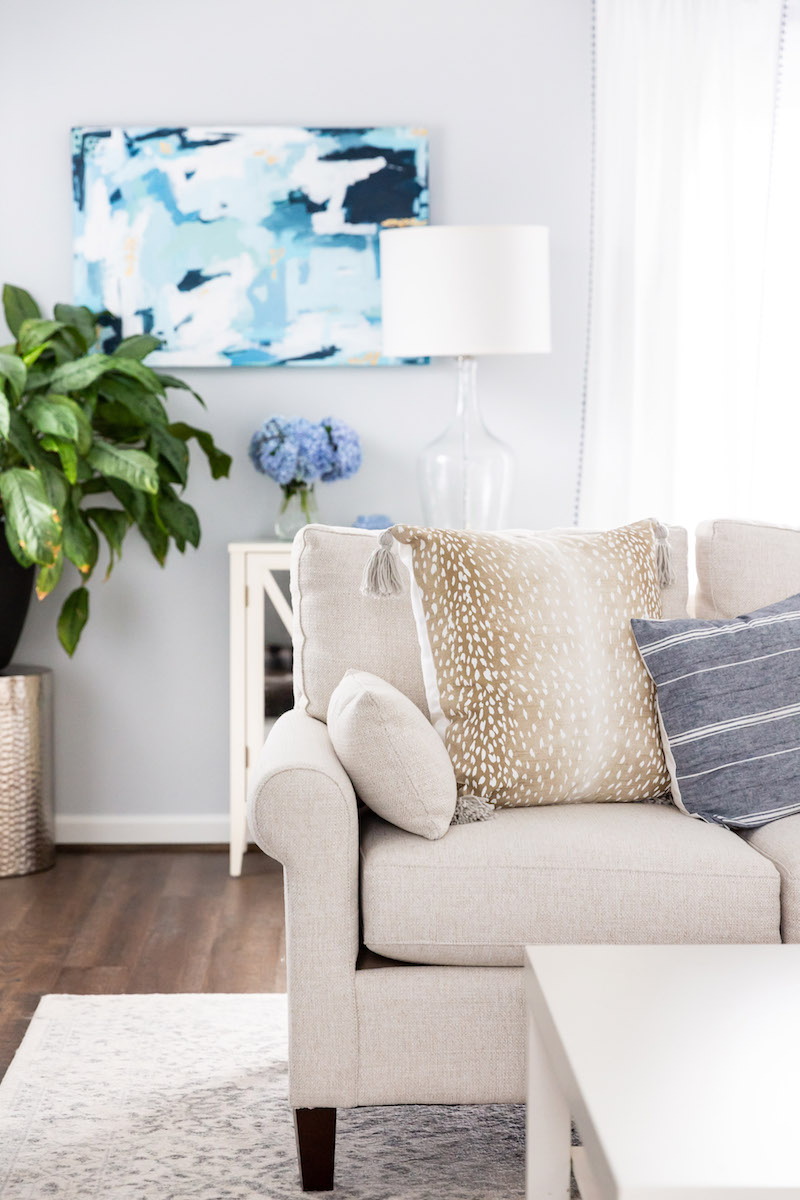 Soft And Neutral Living Room